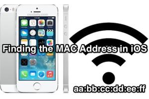 آموزش دریافت MAC Address در مدلهای IPhone/iPad/iOS