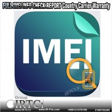 سرویس چک IMEI انواع گوشیها (Model, Carrier, Simlock, Warranty, Software)