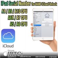 سرویس سریال WiFi Bluetooth MAC برای حذف آیکلود iPad